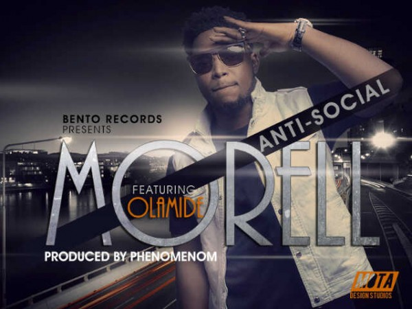 Morell ft. Olamide - ANTI-SOCIAL [prod. by Phenomenom] Artwork | AceWorldTeam.com