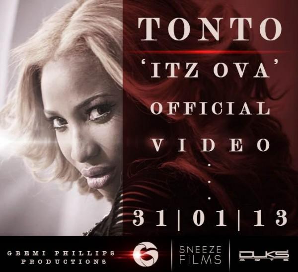 Tonto Dikeh - HI [B.T.S Video] Artwork | AceWorldTeam.com