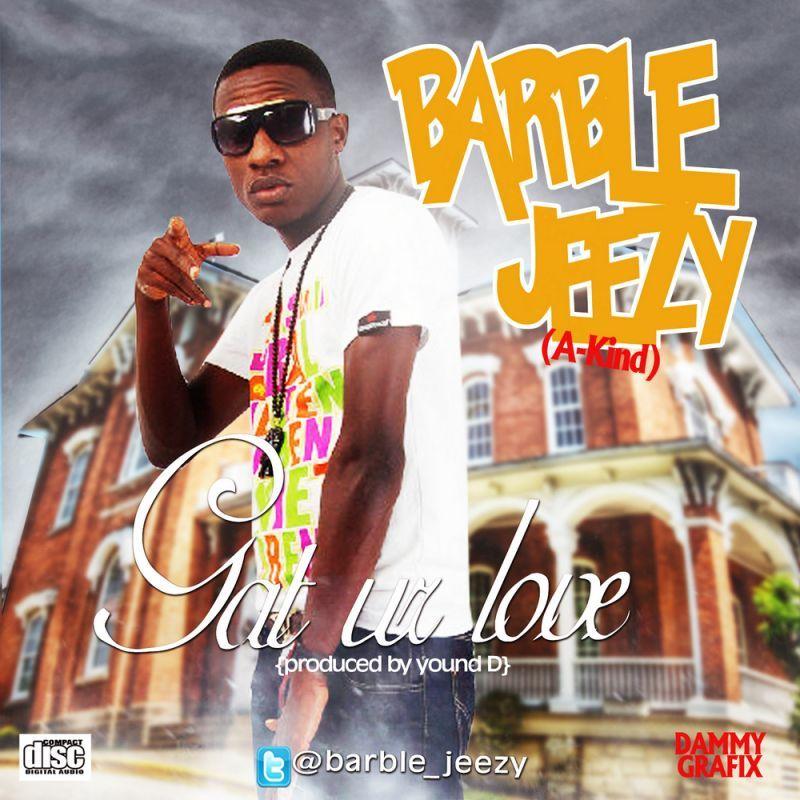 Barble Jeezy - GAT UR LOVE [prod. by Young D] Artwork | AceWorldTeam.com