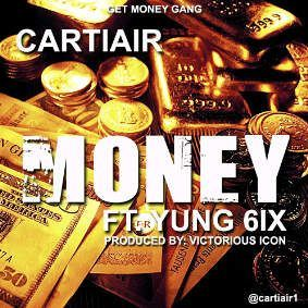 Cartiair ft. Yung6ix - MONEY [prod. by Victorious Icon] Artwork | AceWorldTeam.com