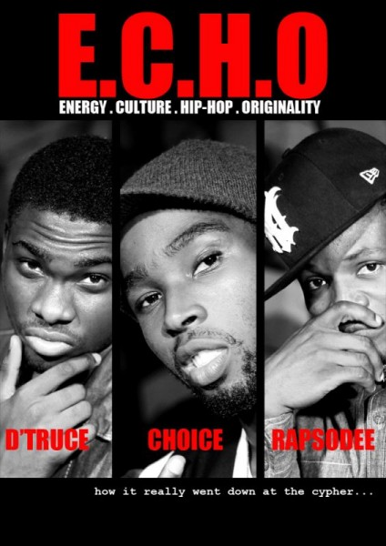 E.C.H.O ft. Choice, D'Truce & Rapsodee - E.C.H.O CYPHER Vol. 1 Artwork | AceWorldTeam.com