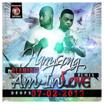 Harrysong ft. Olamide - I'M IN LOVE Remix [prod. by Del'B] Artwork | AceWorldTeam.com