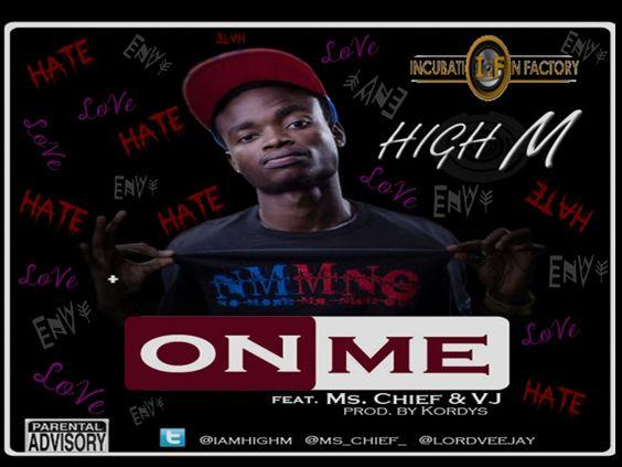 High M ft. Ms. Chief & V.J - ON ME [prod. by Kordys] Artwork | AceWorldTeam.com