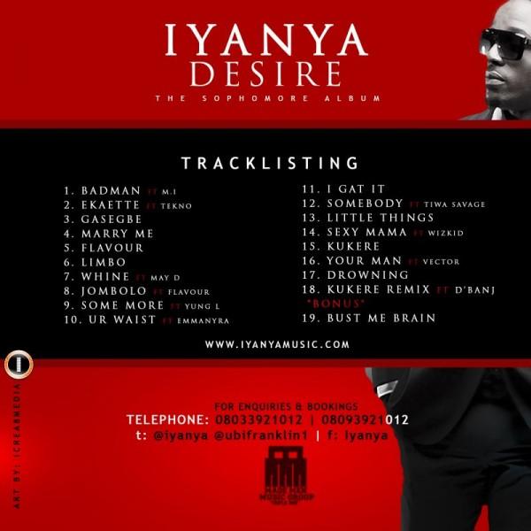 Iyanya - Album Artwork | AceWorldTeam.com