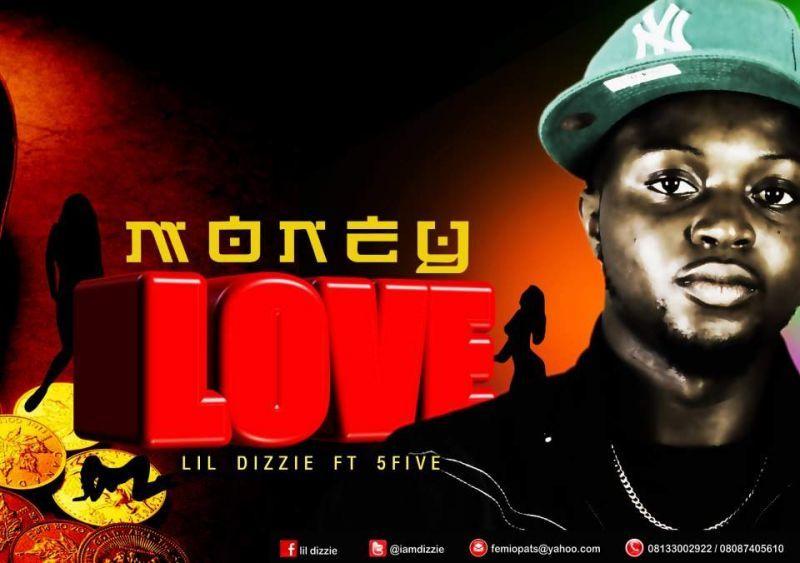 Lil' Dizzie ft. 5Five - MONEY LOVE [prod. by Dr. Spooky] Artwork | AceWorldTeam.com