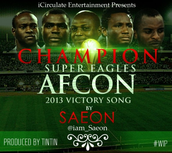 Saeon - CHAMPION [prod. by TinTin] Artwork | AceWorldTeam.com
