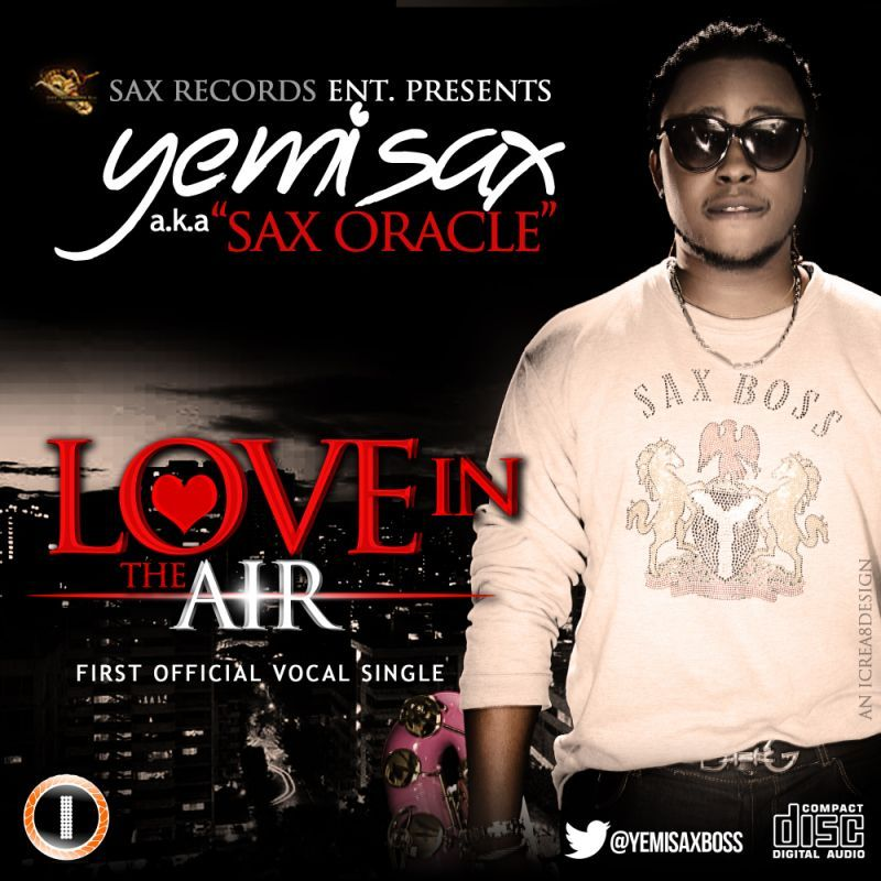 Yemi Sax - LOVE IN THE AIR [Valentine's Special] Artwork | AceWorldTeam.com