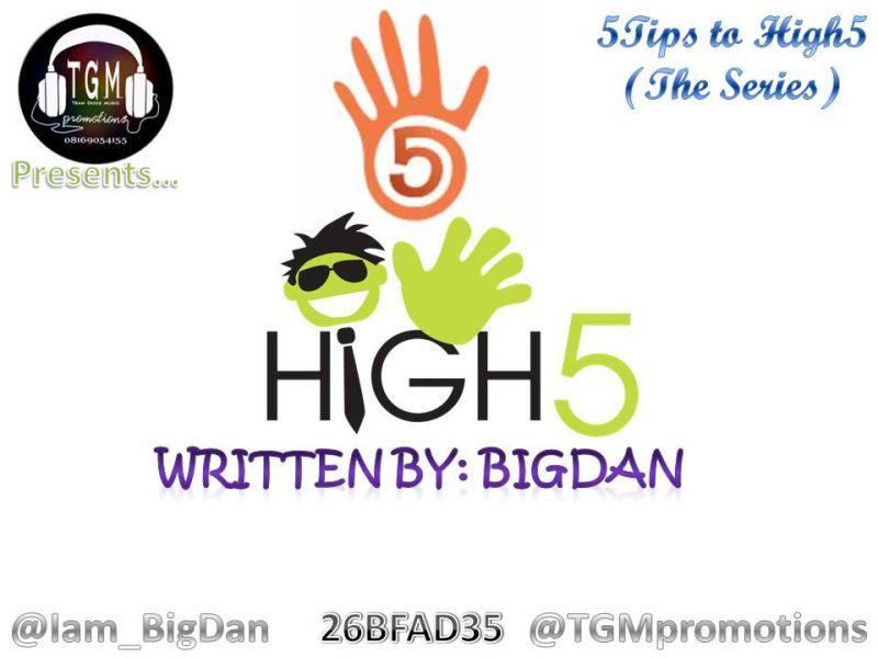 5 Tips To High 5 | AceWorldTeam.com