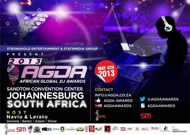 AFRICAN GLOBAL DJ AWARDS Artwork | AceWorldTeam.com
