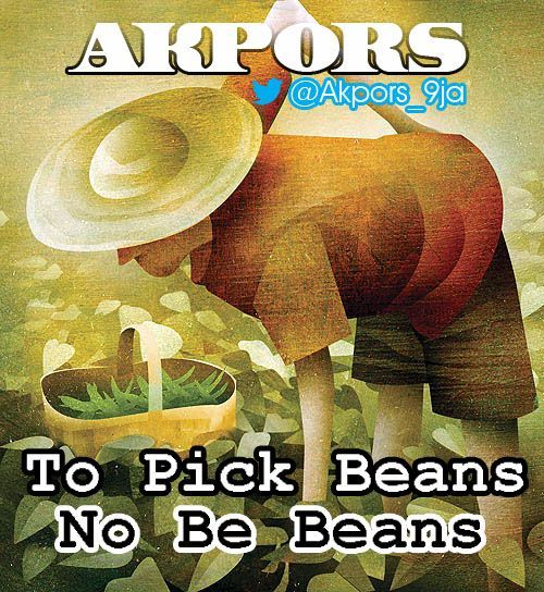 Akpors - TO PICK BEANS NO BE BEANS [Comedy Skit] Artwork | AceWorldTeam.com