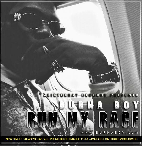 Burna Boy - RUN MY RACE Artwork | AceWorldTeam.com
