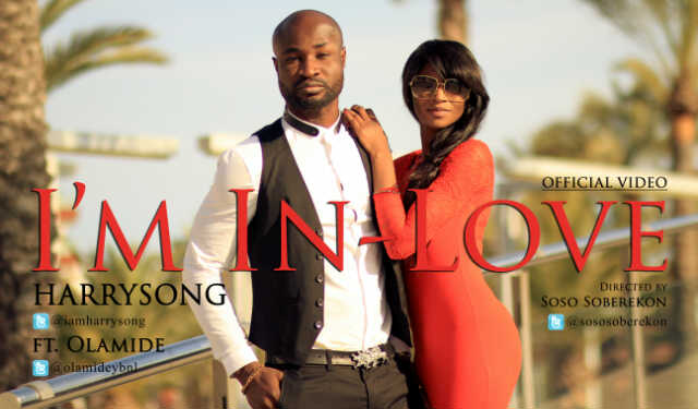 Harrysong ft. Olamide - I'M IN LOVE Remix [Official Video] Artwork | AceWorldTeam.com