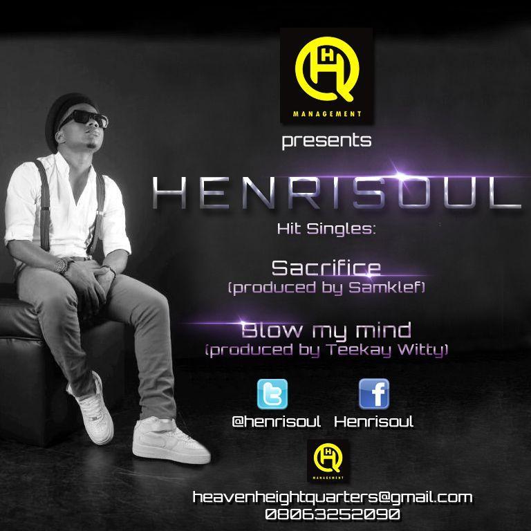 Henrisoul - SACRIFICE + BLOW MY MIND Artwork | AceWorldTeam.com