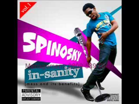 MC Spinosky - MESS & ROBBERY Artwork