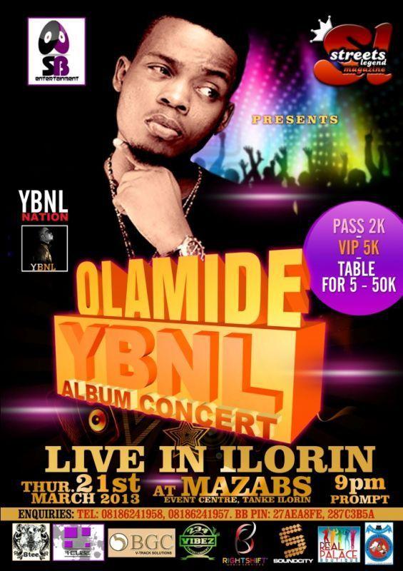 Olamide YBNL Album Concert [Live In Ilorin] • AceWorldTEAM