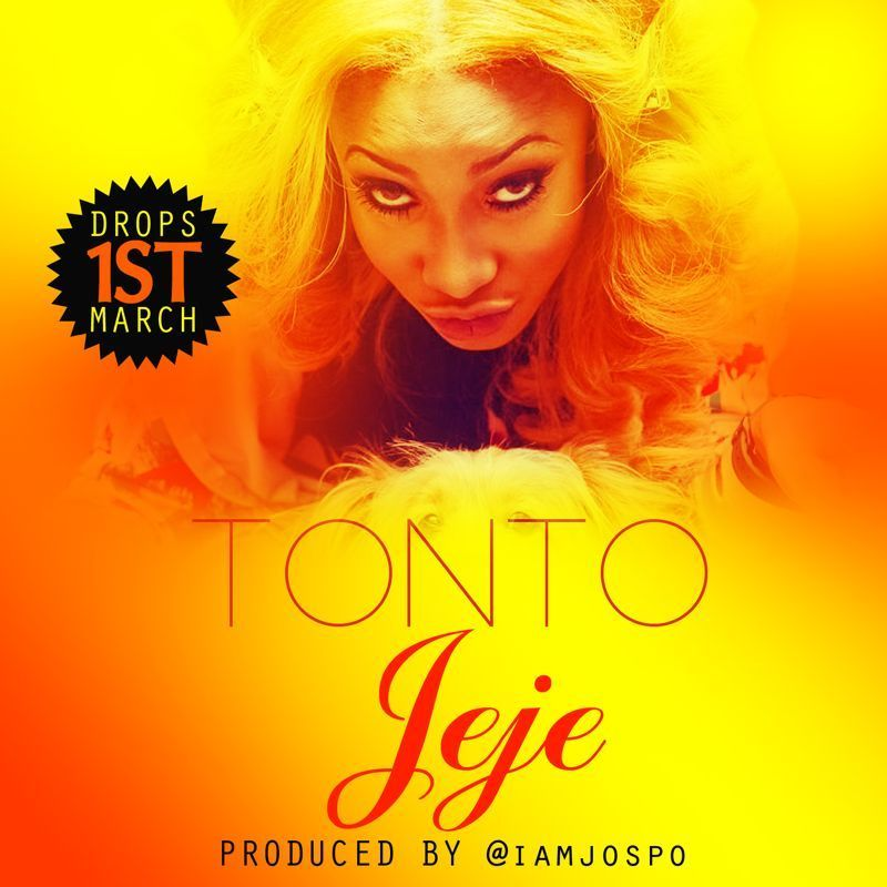 Tonto Dikeh - JEJE [prod. by Jospo] Artwork | AceWorldTeam.com