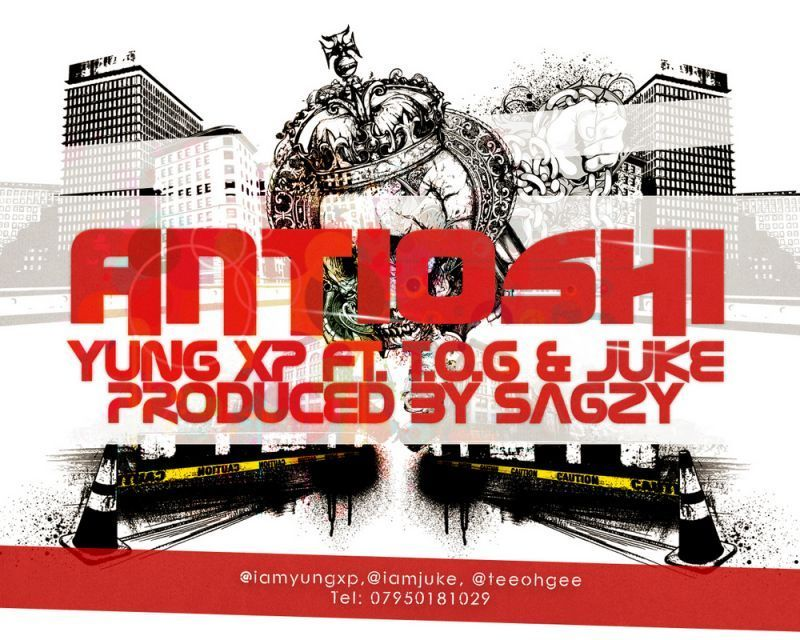 Yung XP ft. T.O.G & Juke - ANTI-OSHI [prod. by Sagzy] Artwork | AceWorldTeam.com