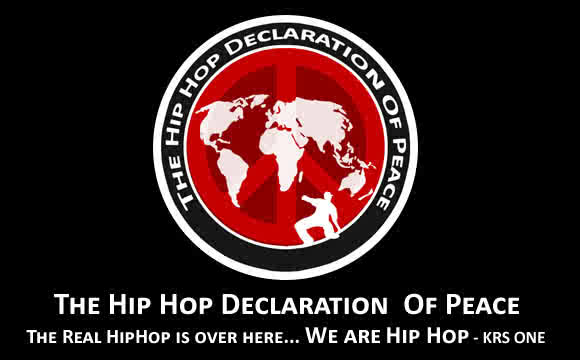 Hip-Hop Declaration of Peace Artwork
