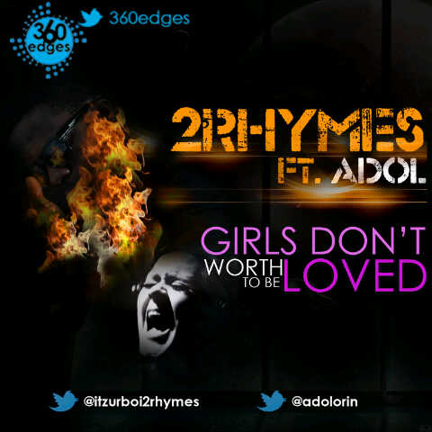 2Rhymes ft. Adol - GIRLS DON'T WORTH TO BE LOVED [a Jamie Foxx cover] Artwork | AceWorldTeam.com