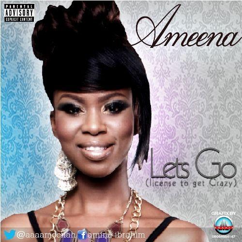 Ameena - LET'S GO [prod. by Vtek] Artwork | AceWorldTeam.com
