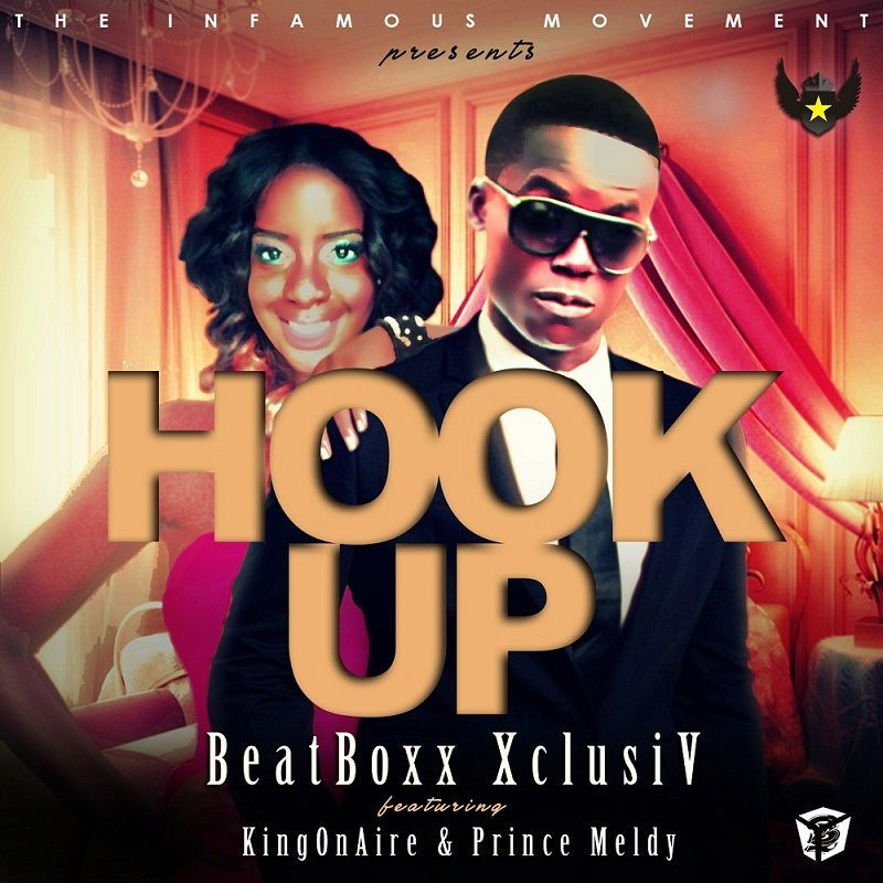 BeatBoxx XclusiV ft. KingOnAire & Prince Meldy - HOOK UP Artwork | AceWorldTeam.com