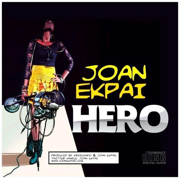 Joan Ekpai - HERO [prod. by Kriscendo] Artwork | AceWorldTeam.com