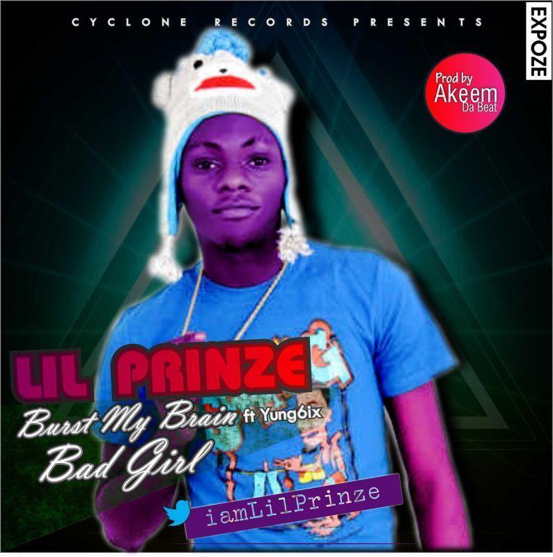 Lil' Prinze - BURST MY BRAIN ft. Yung6ix + BAD GIRL Artwork | AceWorldTeam.com