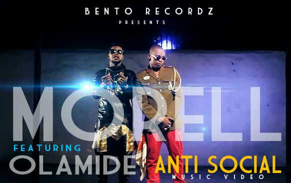 Morell ft. Olamide - ANTI-SOCIAL [Official Video] Artwork | AceWorldTeam.com