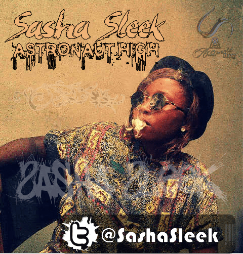 Sasha Sleek - ASTRONAUT HIGH Artwork | AceWorldTeam.com