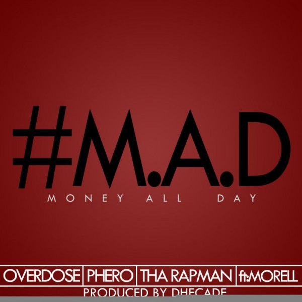 Terry tha Rapman, OverDose & Pherowshuz ft. Morell - MONEY ALL DAY [prod. by Dhecade] Artwork | AceWorldTeam.com
