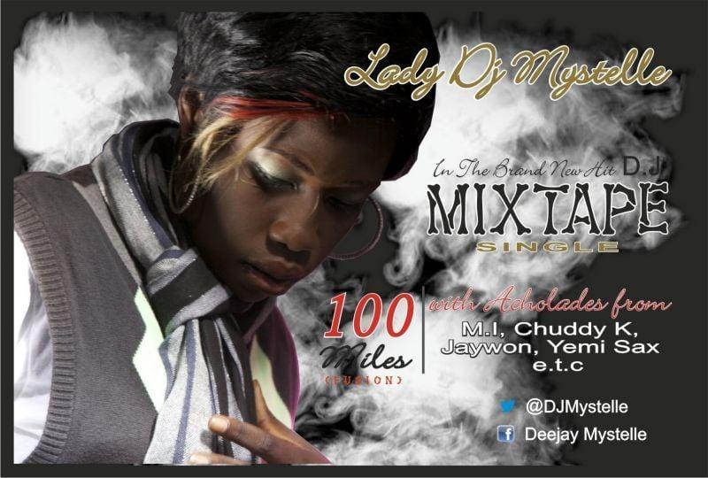 Lady DJ Mystelle ft. M.I, Yemi Sax, Jaywon & Chuddy K - 100Miles [Fusion][Official Video] Artwork | AceWorldTeam.com