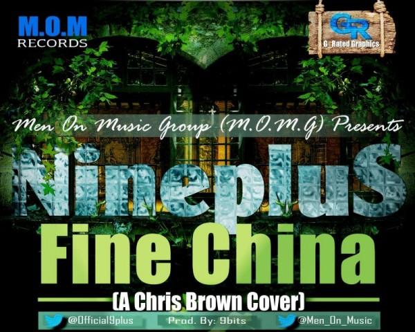 NinePlus - FINE CHINA [a Chris Brown cover] Artwork | AceWorldTeam.com