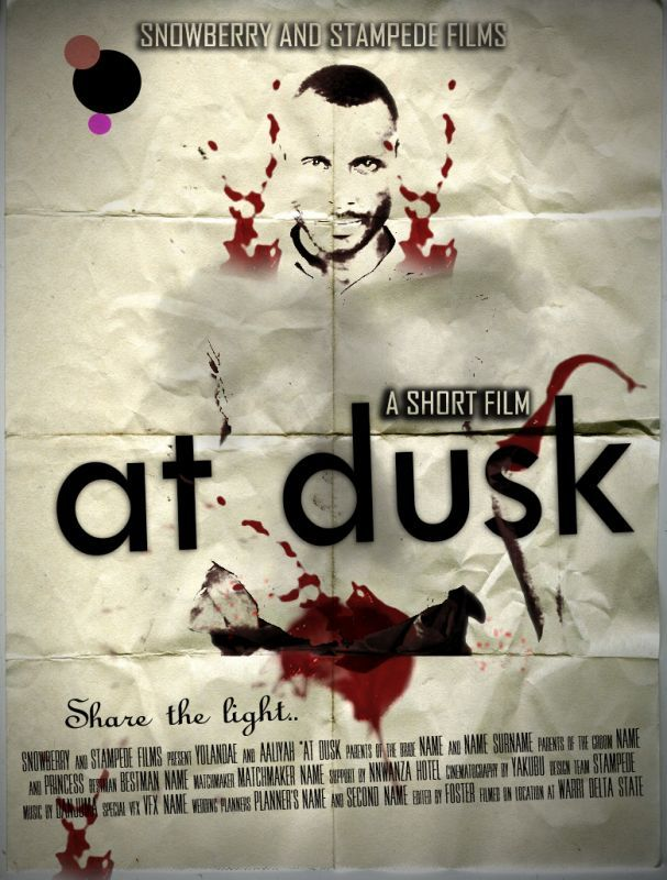 Short Film ~ AT DUSK Artwork | AceWorldTeam.com