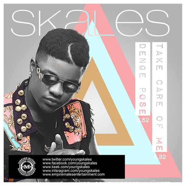 Skales - DENGE POSE + TAKE CARE OF ME Artwork | AceWorldTeam.com