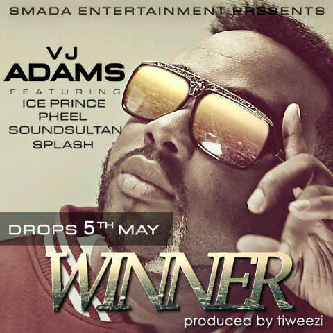 VJ Adams ft. Ice Prince, Sound Sultan, Splash & Pheel - WINNER [prod. by Tiweezi] Artwork | AceWorldTeam.com