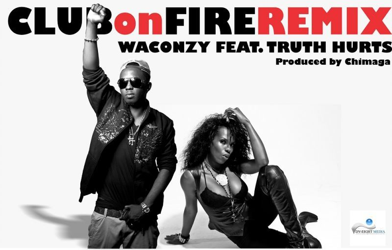 Waconzy ft. Truth Hurts - CLUB ON FIRE Remix [prod. by Chimaga] Artwork | AceWorldTeam.com