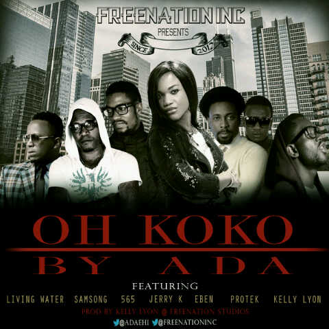 Ada ft. Living Water, Samsong, 565, Jerry K, Eben, Protek & Kelly Lyon - OH KOKO Artwork | AceWorldTeam.com