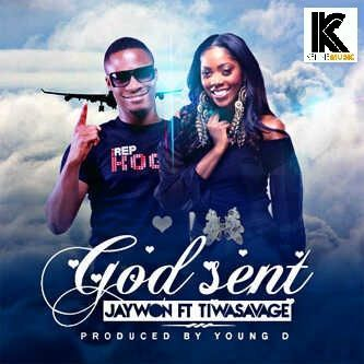Jaywon ft. Tiwa Savage - GOD SENT [prod. by Young D] Artwork | AceWorldTeam.com