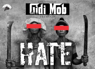 Gidi Mob ft. Peter Clarke - HATE [prod. by Echo] Artwork | AceWorldTeam.com