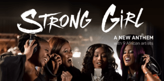 ONE ft. African Women All-Stars - STRONG GIRL Artwork | AceWorldTeam.com