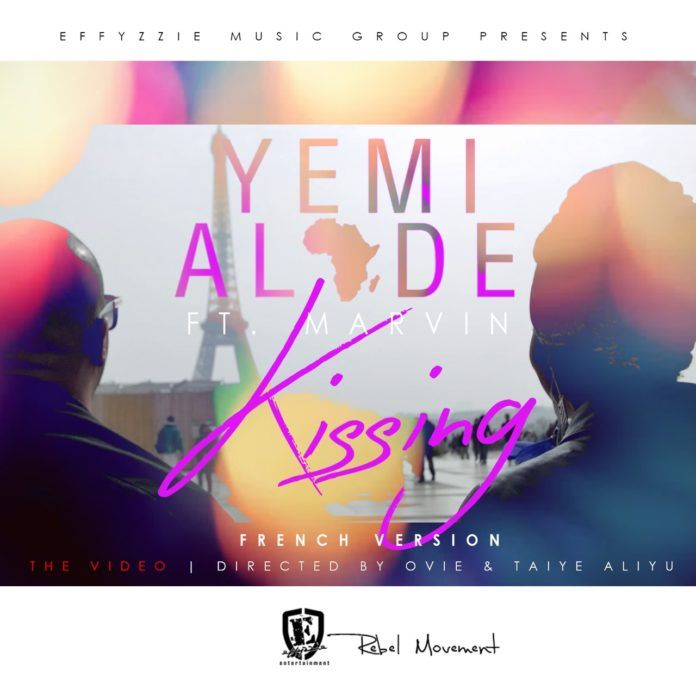 Yemi Alade ft. Marvin - KISSING [French Remix ~ Official Video] Artwork | AceWorldTeam.com