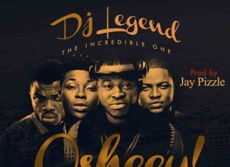 DJ Legend ft. Skales, Reekado Banks & Jay Pizzle - OSHEEY Artwork | AceWorldTeam.com