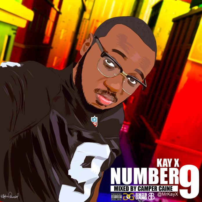 Kay-X - NUMBER 9 [prod. by Camper Caine] Artwork | AceWorldTeam.com