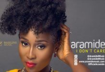 Aramide - I DON'T CARE (prod. by Sizzle PRO) Artwork | AceWorldTeam.com