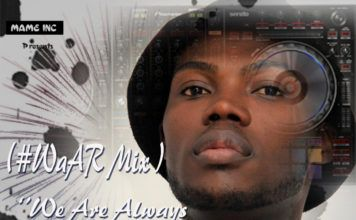 DJ Mewsic - #WaAR MIX Artwork | AceWorldTeam.com