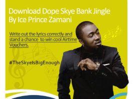 Ice Prince - SKYE BANK (Jingle) Artwork   AceWorldTeam.com