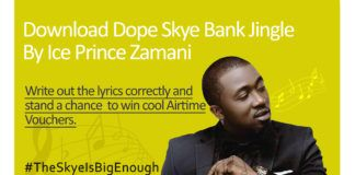 Ice Prince - SKYE BANK (Jingle) Artwork | AceWorldTeam.com
