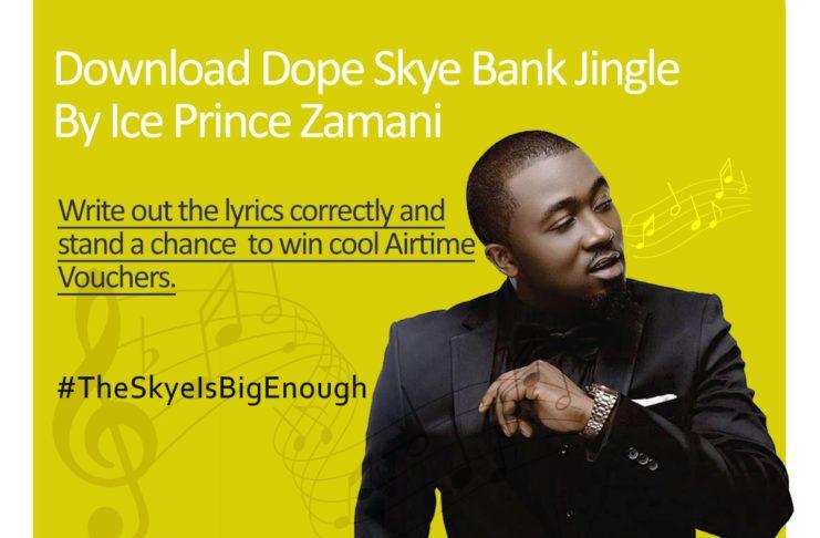 Ice Prince - SKYE BANK (Jingle) Artwork | AceWorldTeam.com