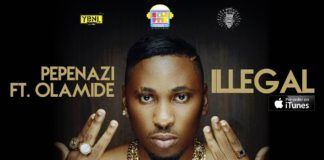 Pepenazi ft. Olamide - ILLEGAL (prod. by Young John) Artwork | AceWorldTeam.com