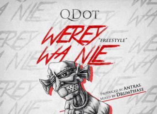 Q.Dot - WEREY WA NLE Freestyle (prod. by Antras) Artwork | AceWorldTeam.com